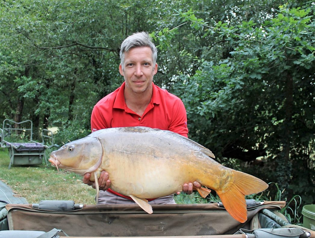 Steven with Cornflake at 32lbs 8oz