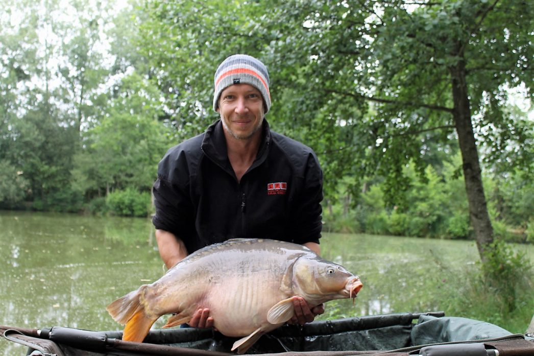 Steven with Domino at 31lbs