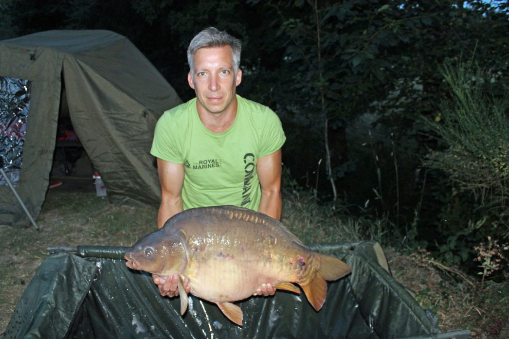 Steven with Gerrard at 32lbs