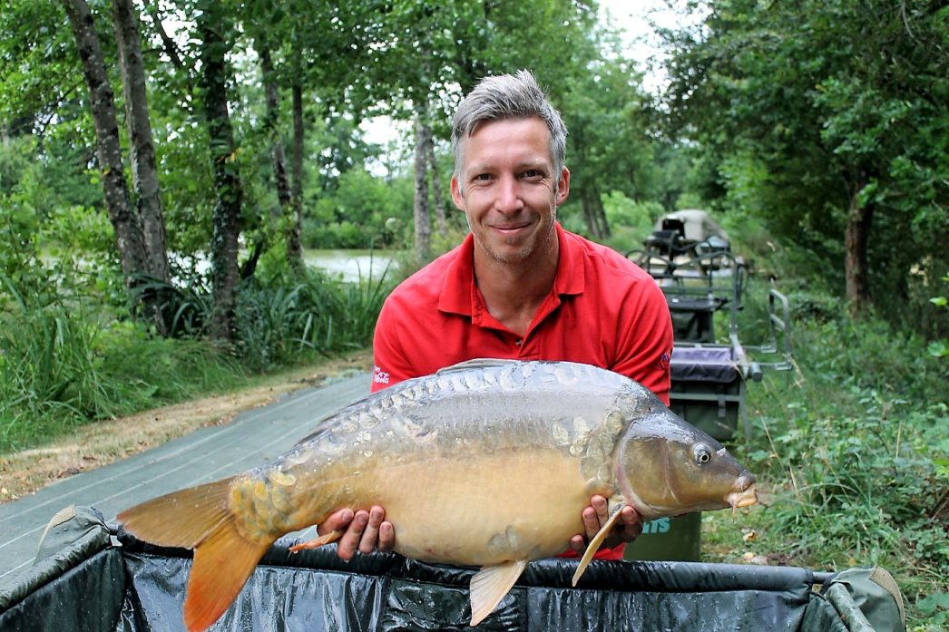 Steven with Stardust at 24lbs 12oz