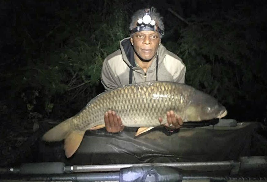 Drew with a 28lbs common