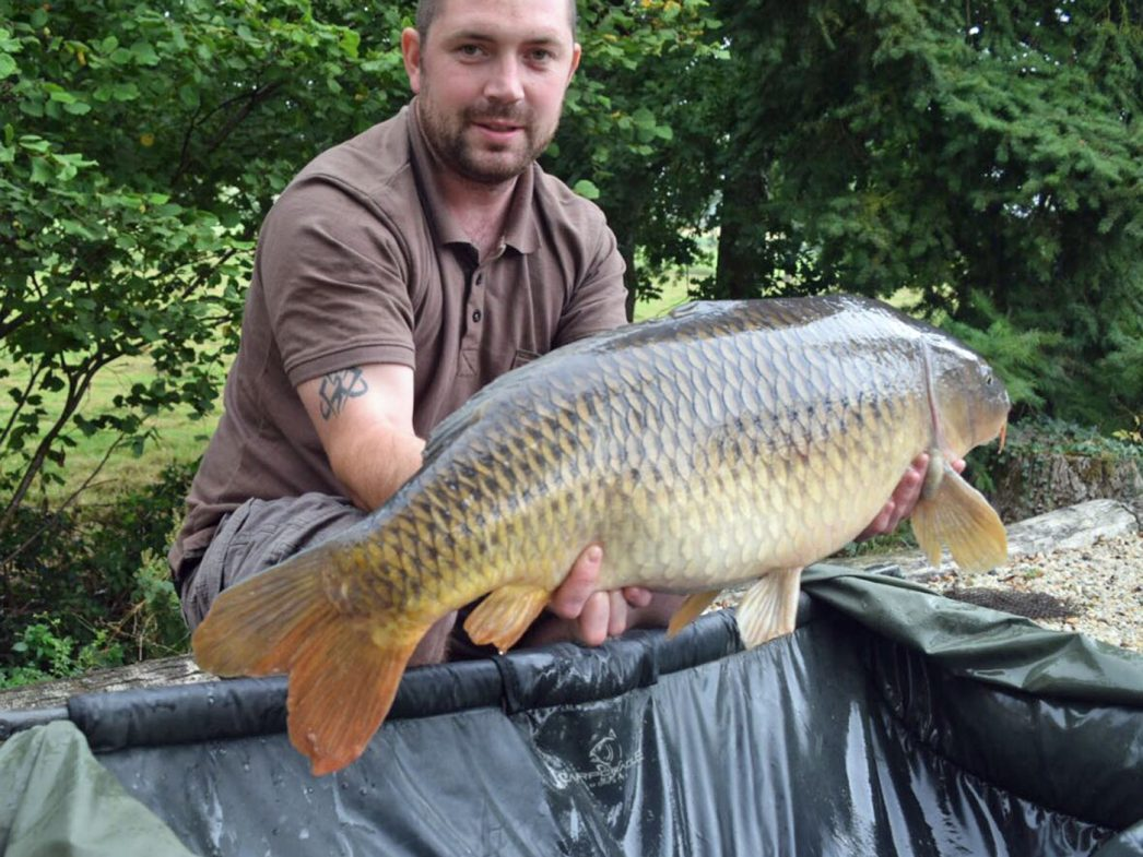 Ian with a 26lbs common