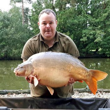 Jay with Shorty at 36lbs