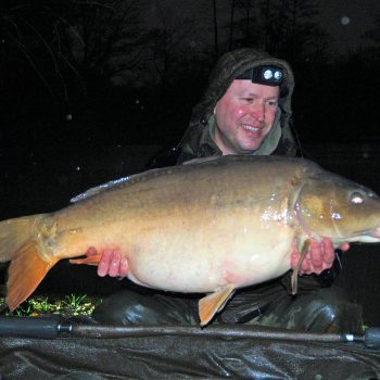 Matt with Monkfaire at 35lbs 8oz