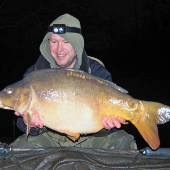 Matt with Starburst at 27lbs 8oz