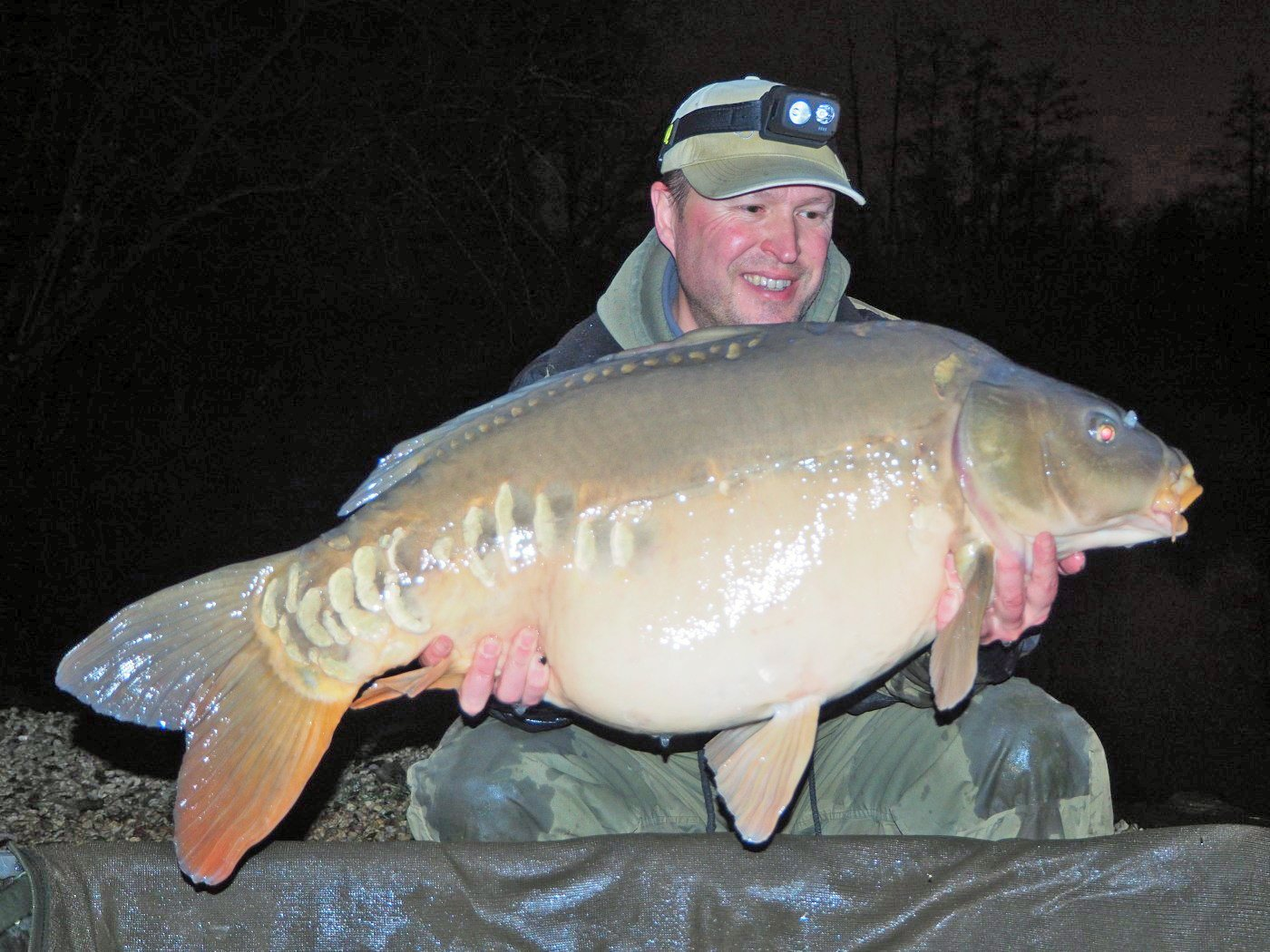 Matt with the Big Apple at 37lbs