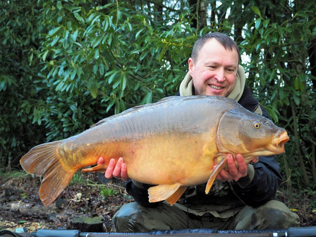 Matt with Coco at 28lbs
