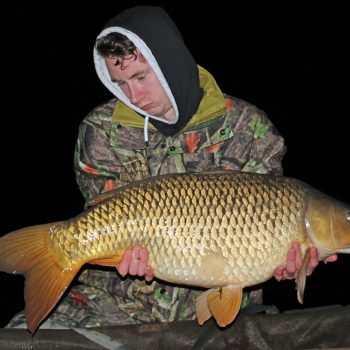 Ashley with a 31lbs 4oz common