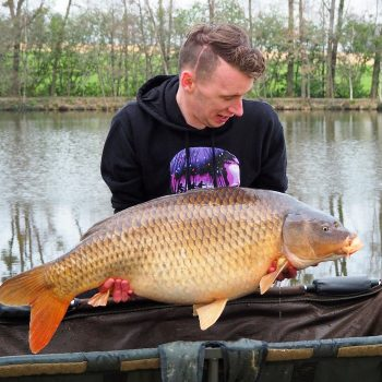 Ashley with a 35lb common
