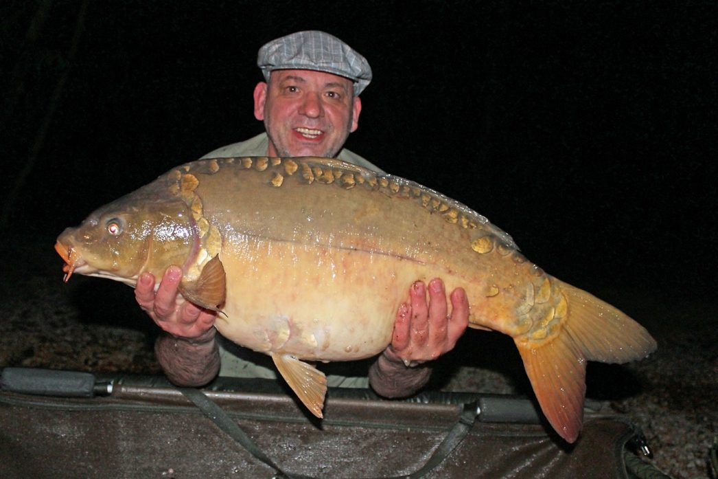 Alex with Magnum at 35lbs