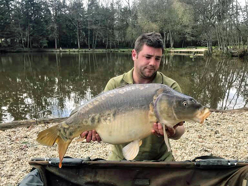Craig with the Bullet at 29lbs