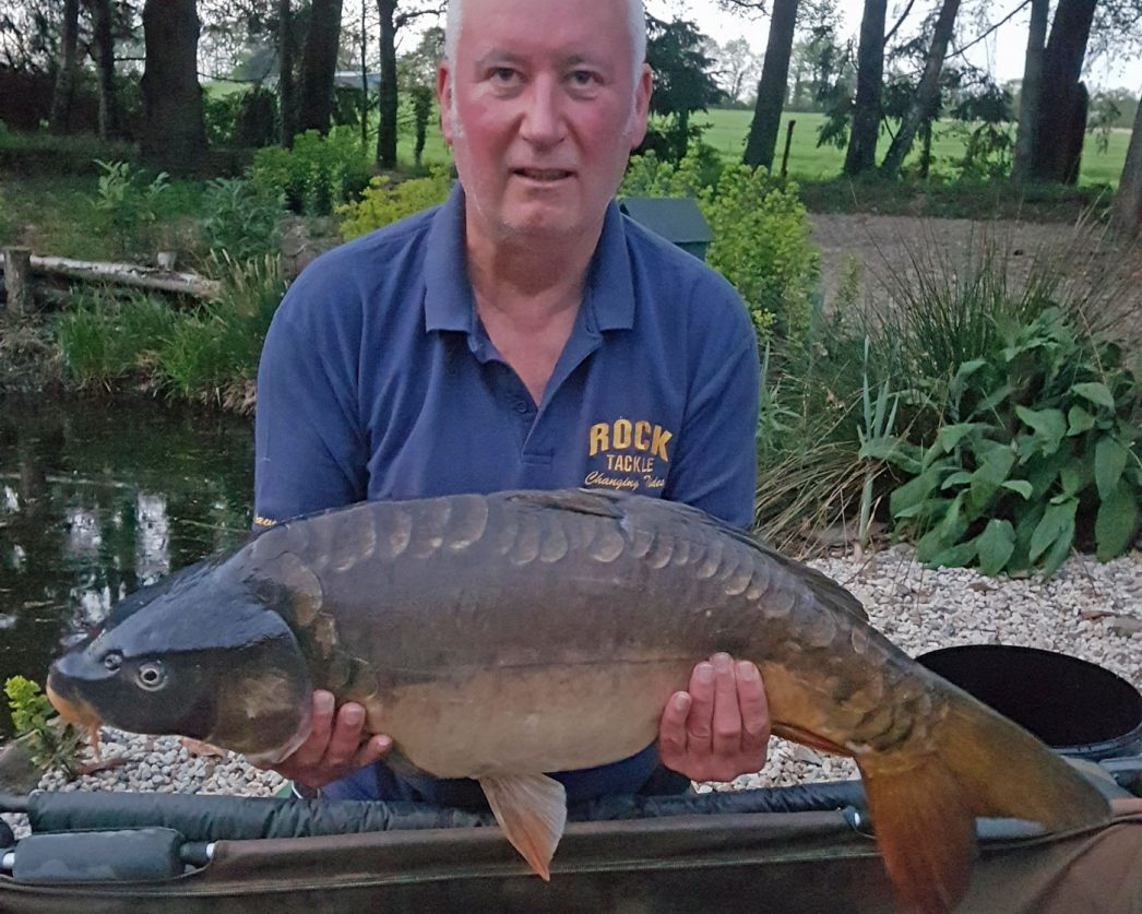 Dave with Tangerine at 27lbs