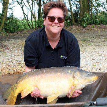 Loes with Orion at 26lbs