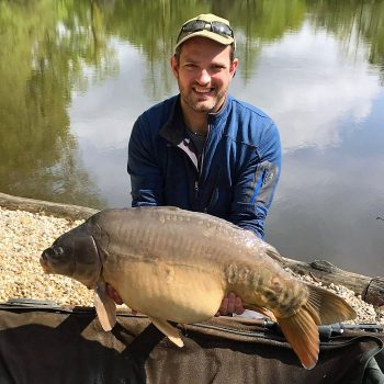 Andy with the Big Apple at 36lbs