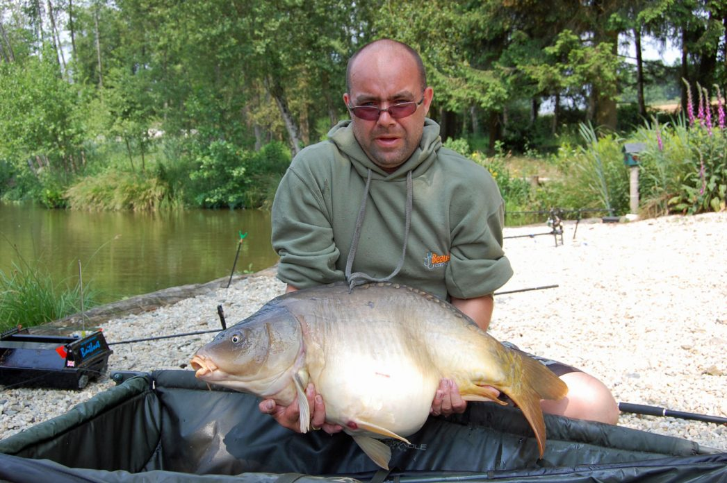 Ian with the Little Football at 29lbs