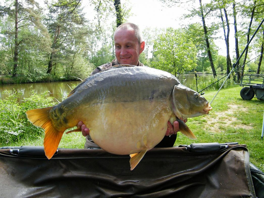 Maurice with Galaxy at 34lbs