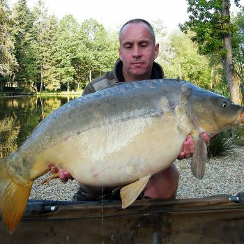 Maurice with Magnum at 33lbs