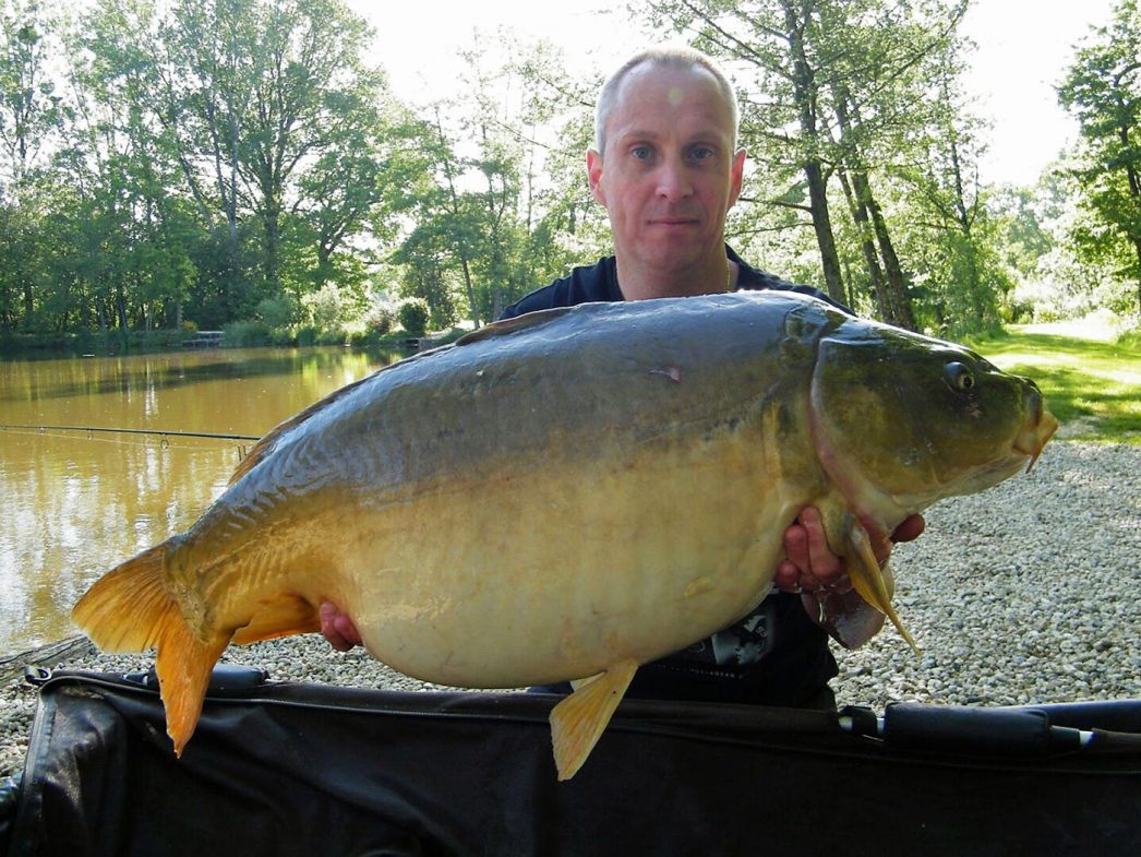 Maurice with Monkfaire at 35lbs