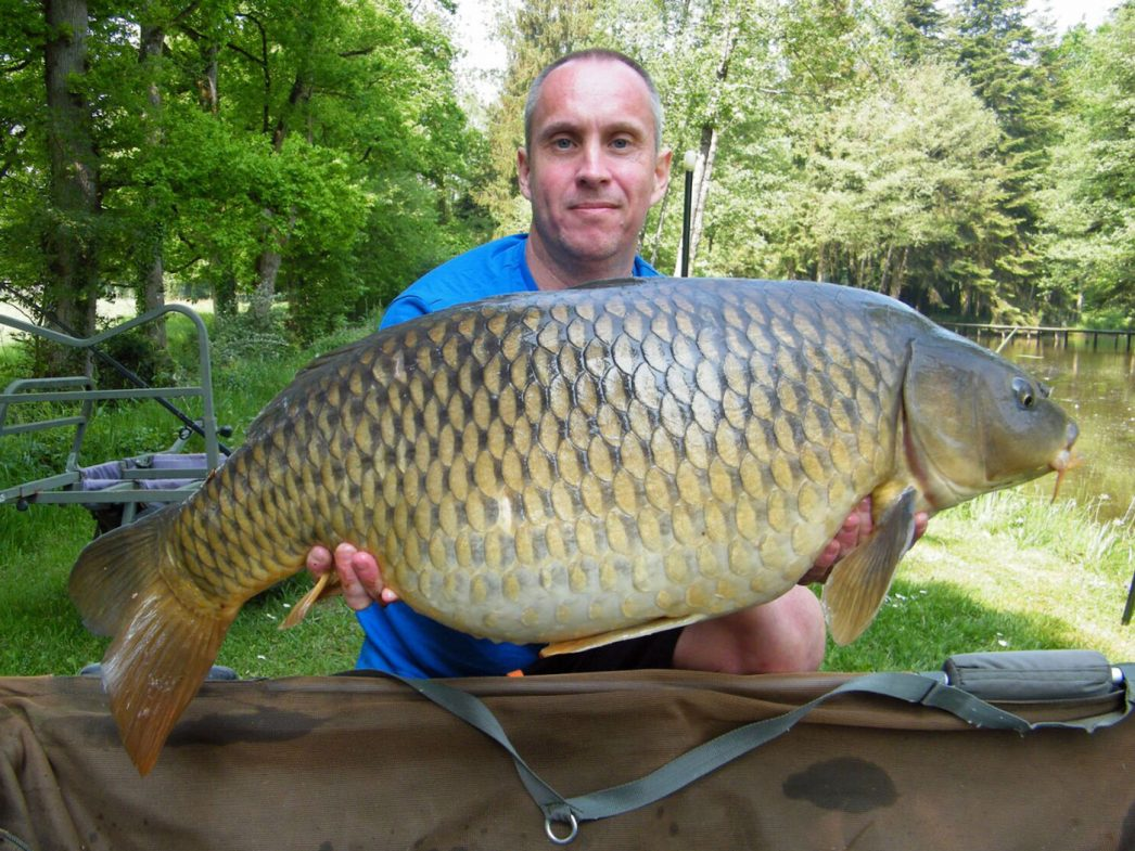 Maurice with a 29lbs common