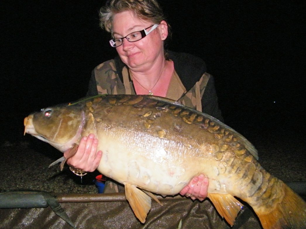 Nathalie with the Duchess at 31lbs 4oz