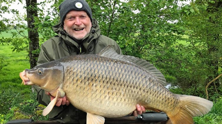 Richard with Jess at 37lbs 8oz