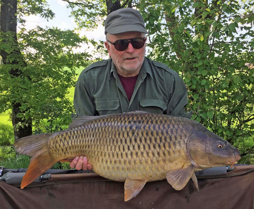 Richard with a 34lbs common