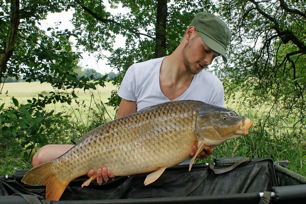 Josh with a 29lbs 4oz common
