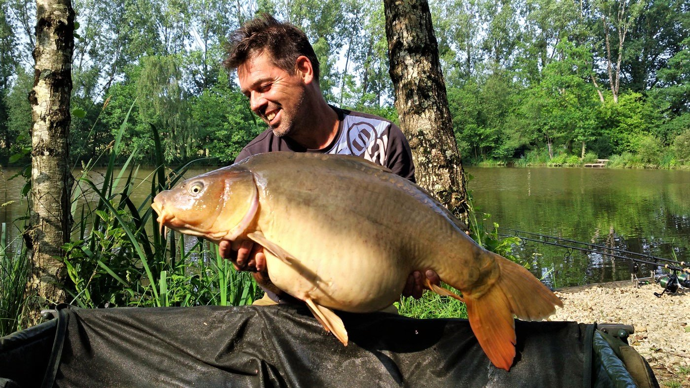 Paul with Fan Tail at 35lbs 8oz
