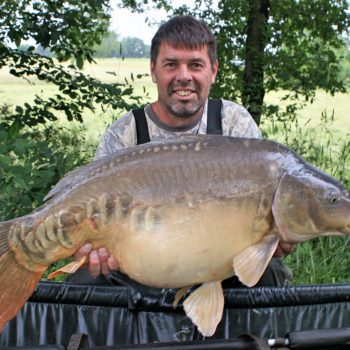 Paul with The Big Apple at 35lbs