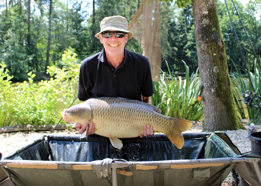 Bob with a 28lb common carp