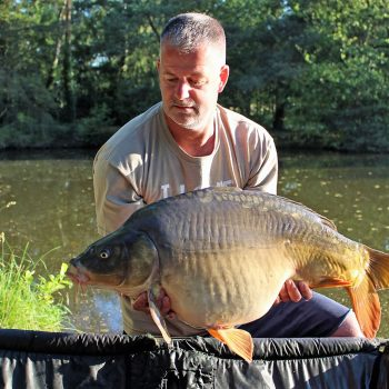 Dave with Merlin at 31lbs 5oz