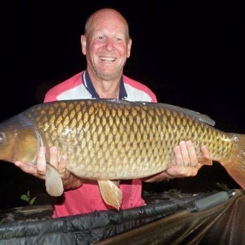 Ian with a 30lbs 6oz common carp