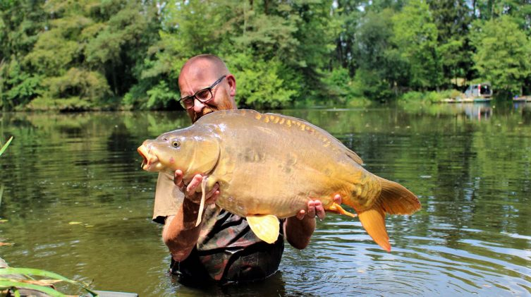 Jimmer with Bournville at 29lbs 14oz