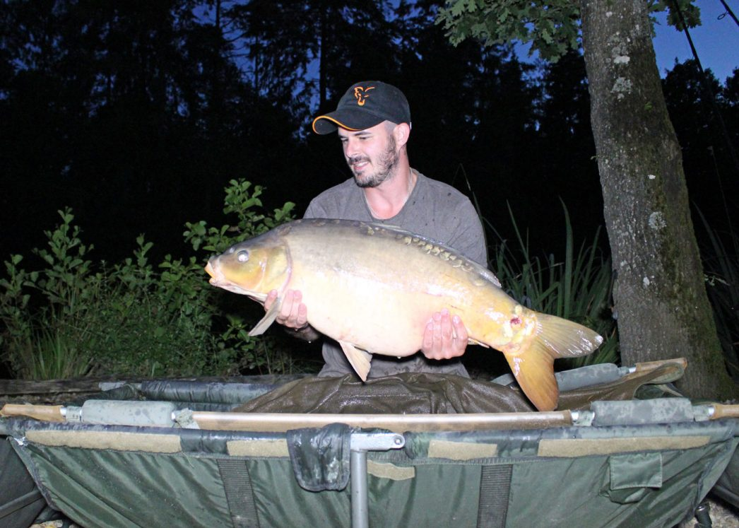 Joe with Helix at 28lbs