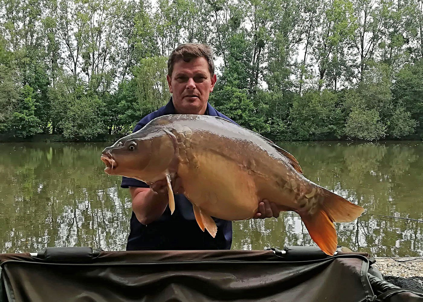 Mark with Janus at 34lbs