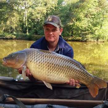 Mark with a 28lb common carp