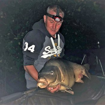 Anthony with Mr Angry at 44lbs