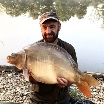 Chris with the Little Football at 27lbs