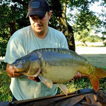 Dan with Tangerine at 24lbs 8oz