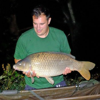 Dan with a 27lb common