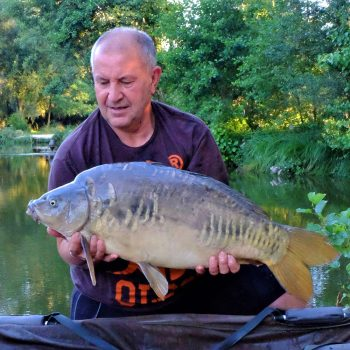 Dave with April at 24lbs