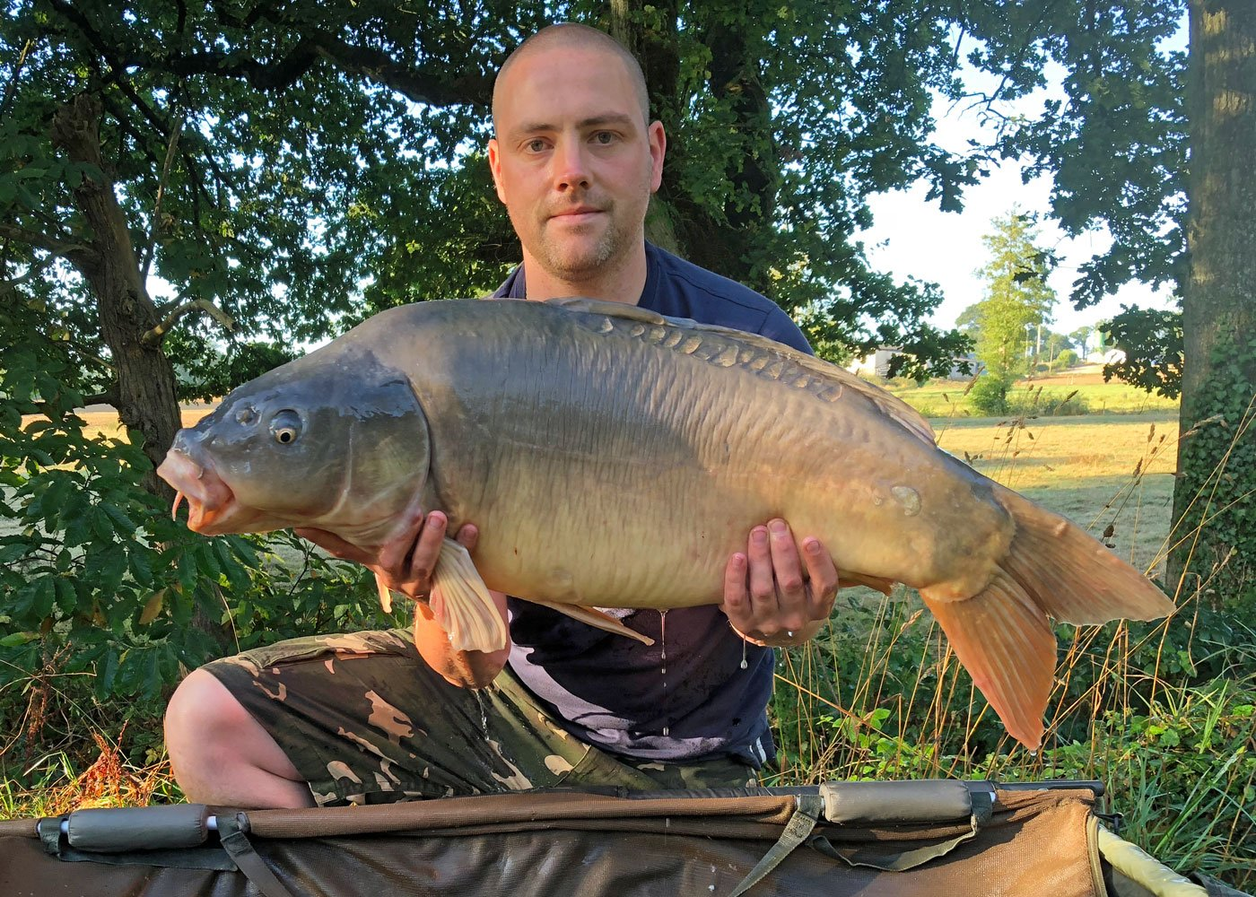 Dave with Planets at 33lbs