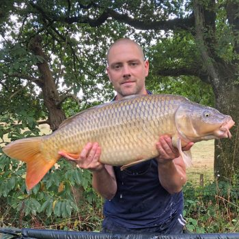 Dave with a 26lbs 10oz common carp