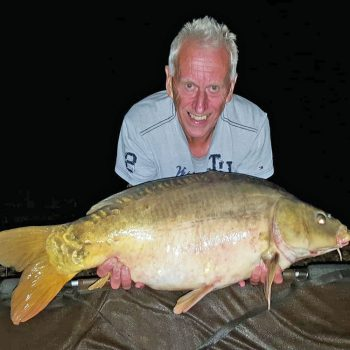 Graham with Clint at 27lbs 8oz