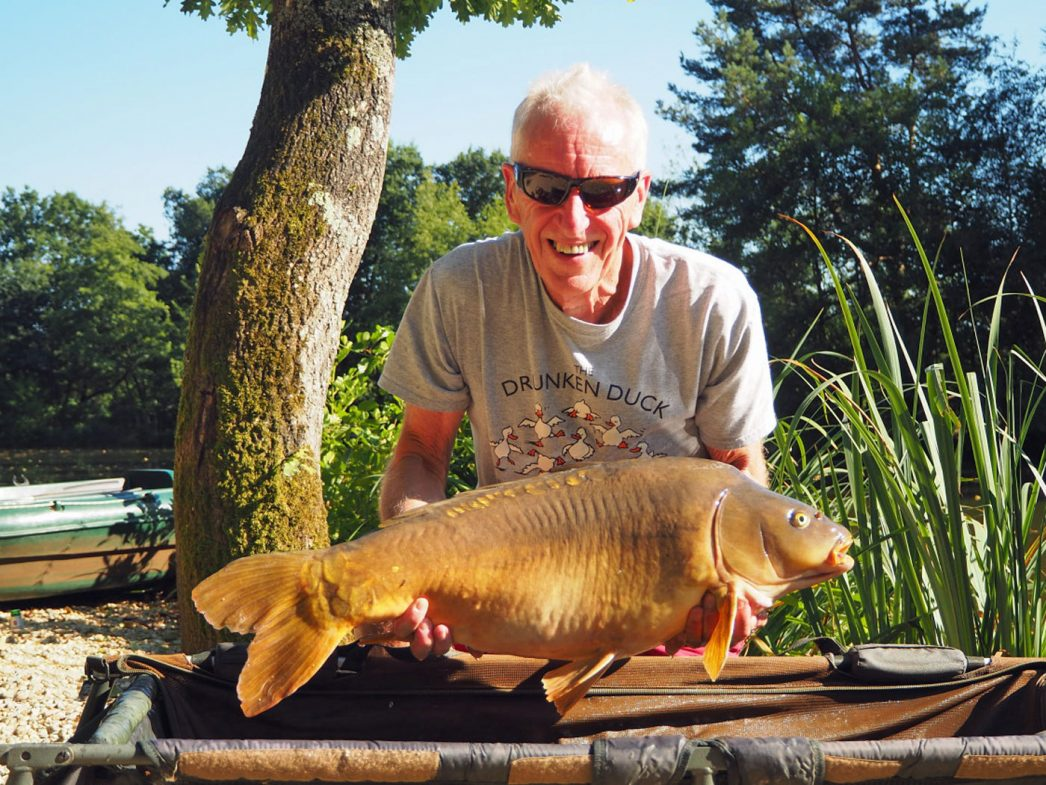 Graham with Coco a 24lbs 12oz