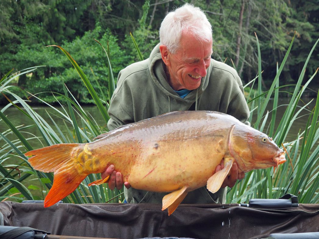 Graham with Fan Tail at 33lbs