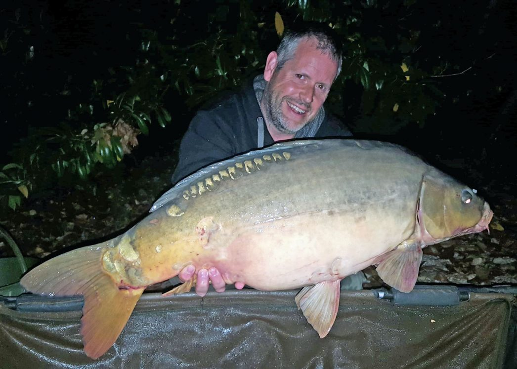 James with Helix at 28lbs