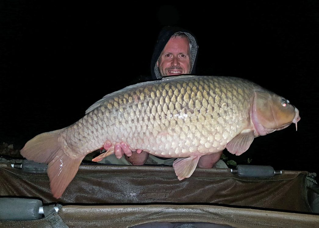 James with Patch at 31lbs 8oz