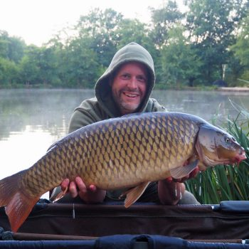 James with a 25lbs 8oz common