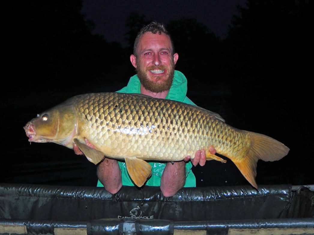 Mark with a 22lb common